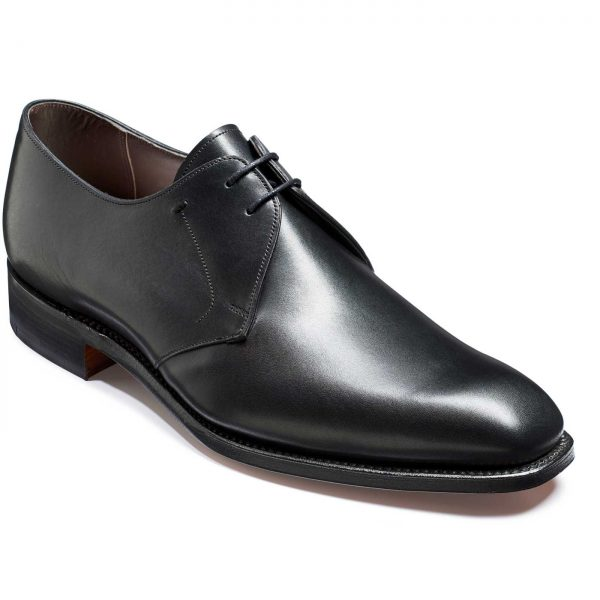 Barker Matlock Shoes - Derby Style - Black Calf