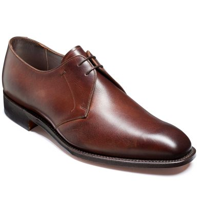 Barker Matlock Shoes - Derby Style - Dark Walnut Calf