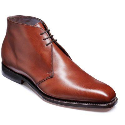 Barker Montgomery Boots - Derby Chukka - Chestnut Calf