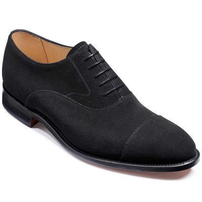 Barker Shoes Falsgrave Black Suede