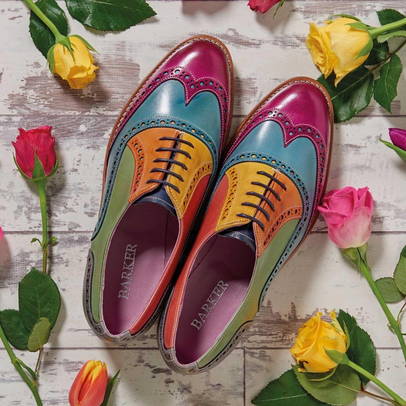 BARKER Fearne Shoes Ladies Brogues
