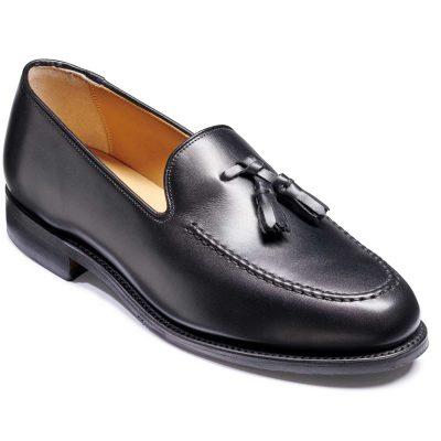 Barker Studland Shoes - Tassel loafer - Black Calf