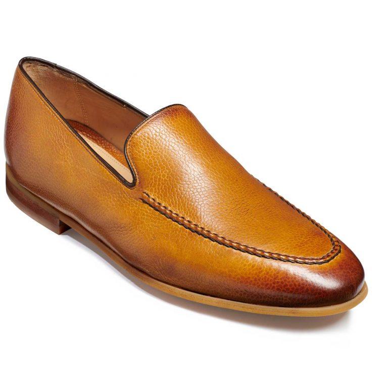 Barker Swanage - Slip On Loafers - Cedar Grain