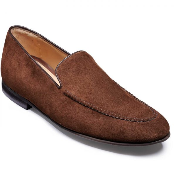 Barker Swanage - Slip On Loafers - Castagnia Suede