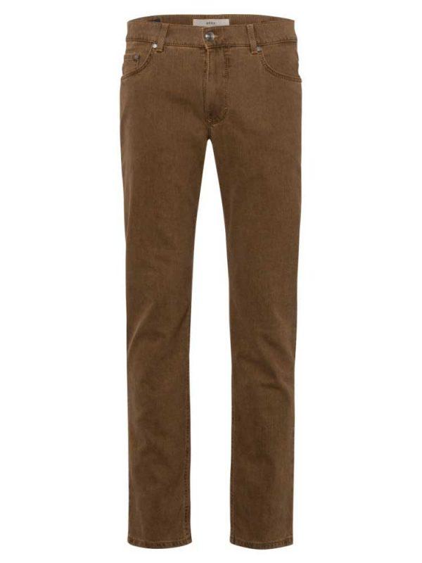 BRAX Jeans- Mens Cooper Masterpiece Coloured Denim - Sand