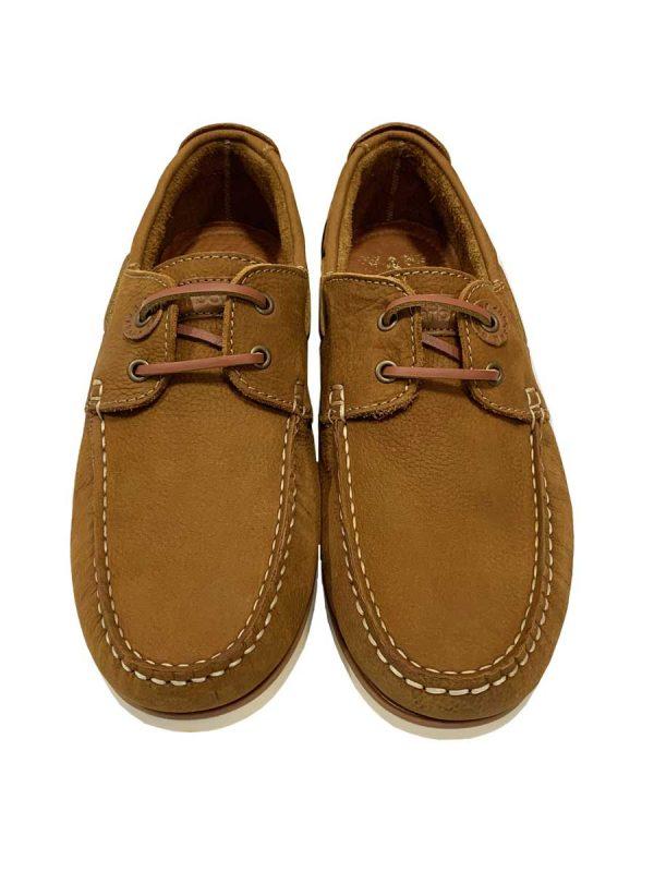 Barbour Men's Capstan Boat Shoes - Light Tan