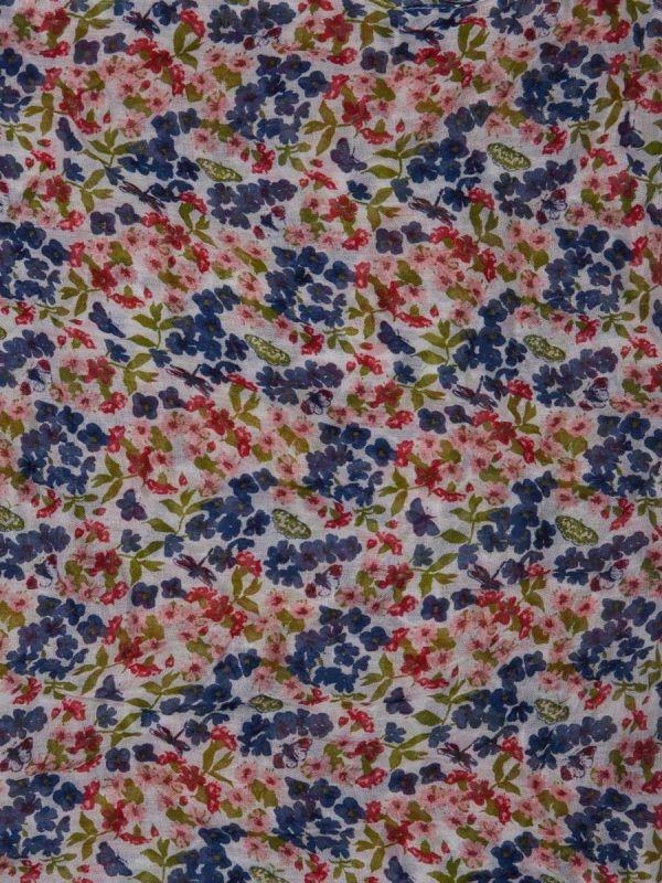 Barbour Country Floral Print Wrap