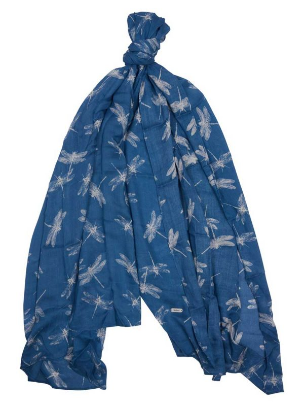 Barbour Dragonfly Print Wrap