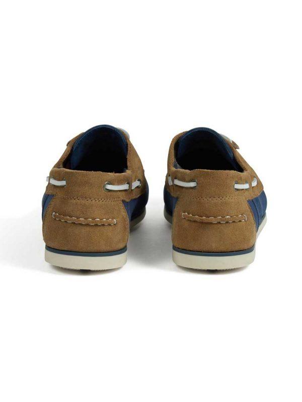 Barbour Men's Capstan Boat Shoes - Light Blue & Sand