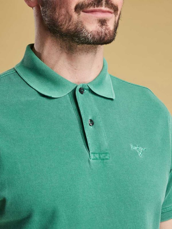 Barbour-Mens-Washed-Sports-Polo-Shirt---Turf-Green3