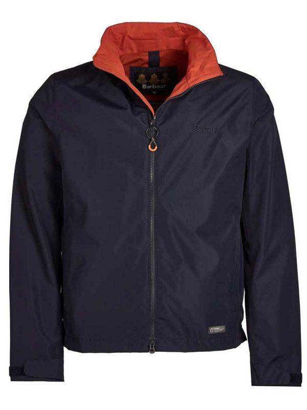 Barbour Rye Waterproof Jacket - Navy