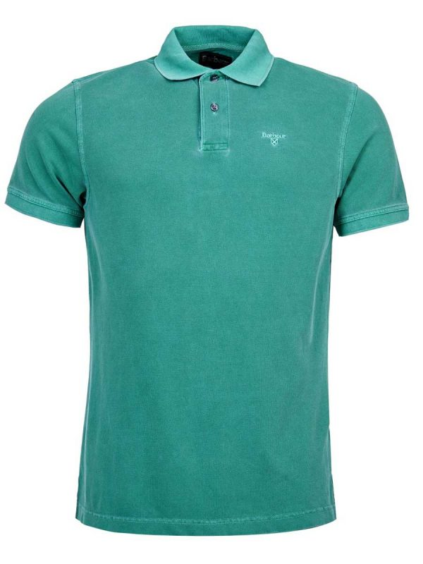 Barbour-Washed-Sports-Polo-Shirt---Turf-Green