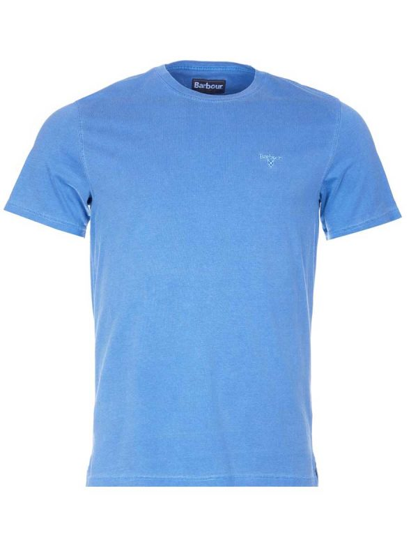 Barbour Garment Dyed T-Shirt - Marine