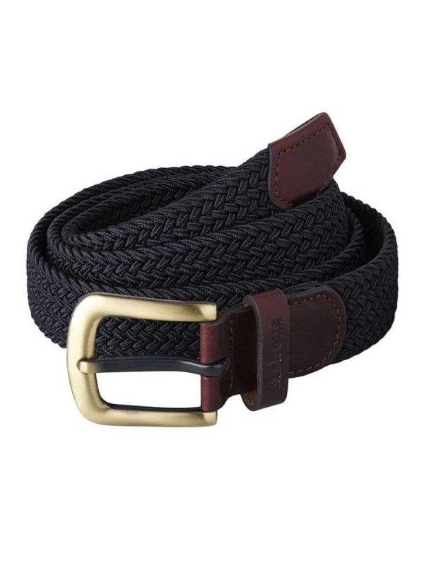 Barbour Mens Stretch Webbing Belt