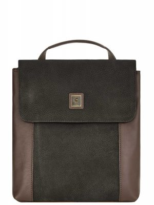 DUBARRY Convertible Bag - Ladies Dingle Leather - Black & Brown