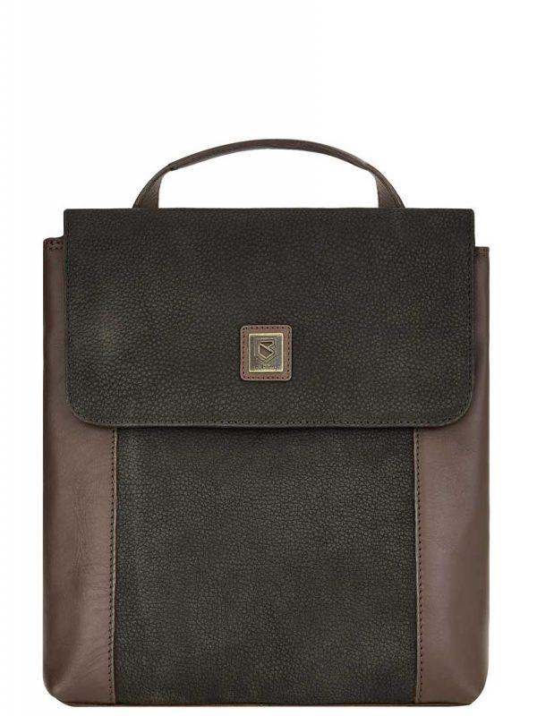 DUBARRY Convertible Bag - Ladies Dingle Leather - Black & Brown