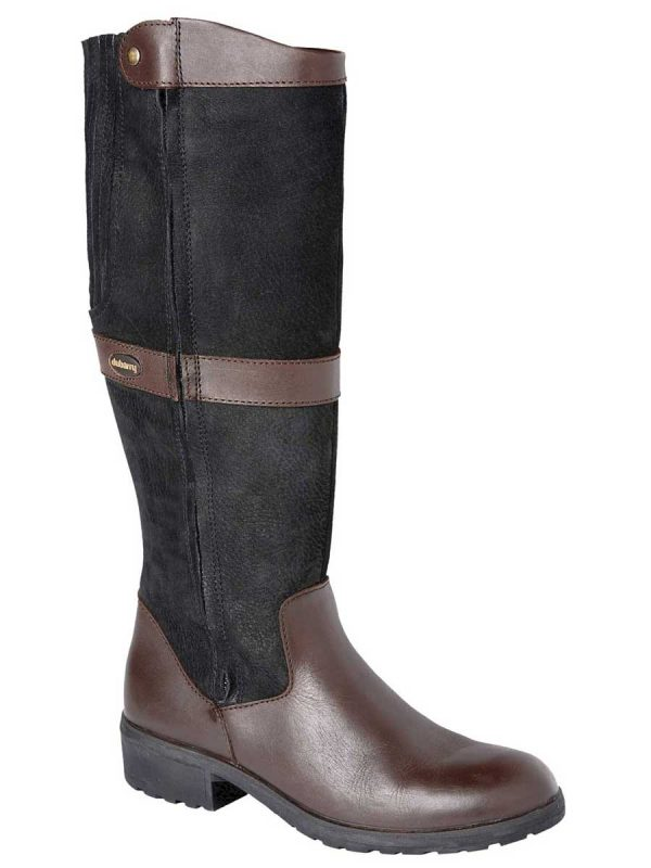 DUBARRY Sligo Boots – Waterproof Gore-Tex Leather – Black & Brown