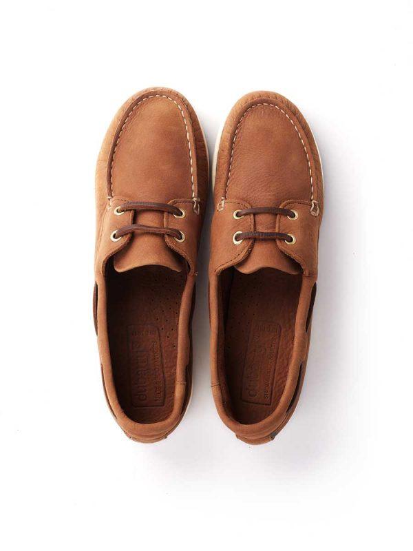 Dubarry Deck Shoes - Ladies Elba XLT - Chestnut