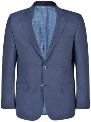 MAGEE Jacket - Mens Nice Classic Fit - Navy Micro-Design