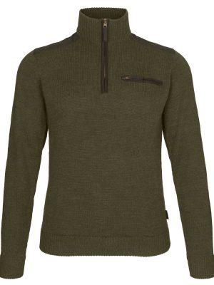 SEELAND Half-Zip - Mens Buckthorn Jersey - Shaded Olive