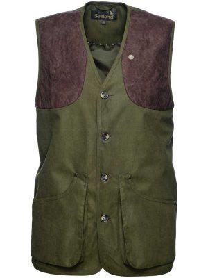 SEELAND Waistcoat - Mens Woodcock II - Shaded Olive