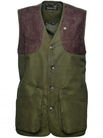 SEELAND Waistcoat - Mens Woodcock II - Shaded Olive