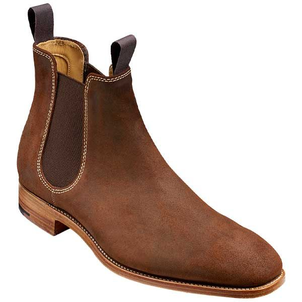 BARKER-Mansfield-Boots-–-Mens-Chelsea-–-Mid-Brown-Suede