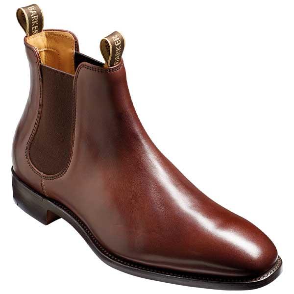 BARKER-Mansfield-Boots-–-Mens-Chelsea-–-Walnut-Calf