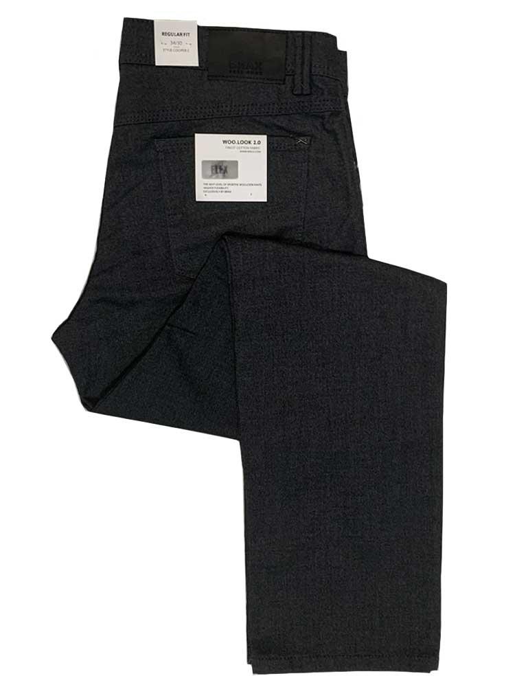 BRAX Jeans - Mens Cooper WOO.LOOK 2.0 Hi-Flex - Asphalt Grey
