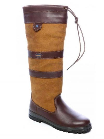 DUBARRY Galway Boots - Ladies Waterproof Gore-Tex Leather - Brown