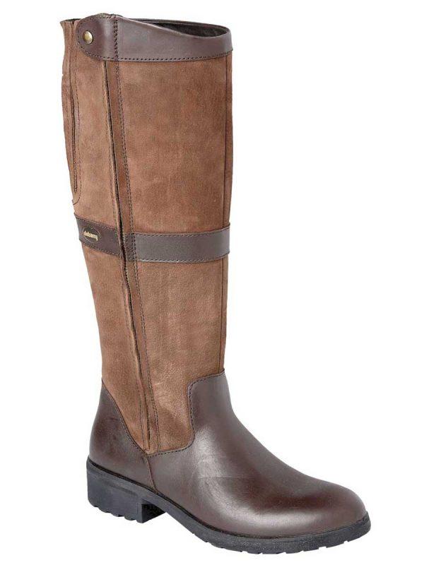 DUBARRY Sligo Boots – Waterproof Gore-Tex Leather – Walnut