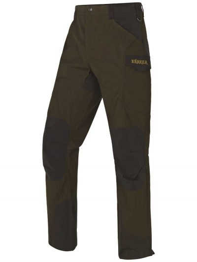 Härkila Gevar Trousers - Willow Green & Shadow Brown