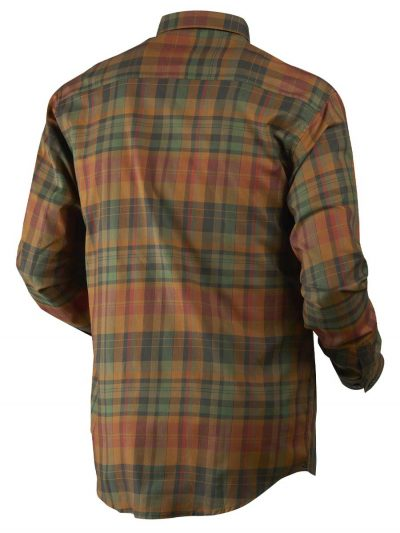 Härkila Mens Newton Shirt - Spice Check
