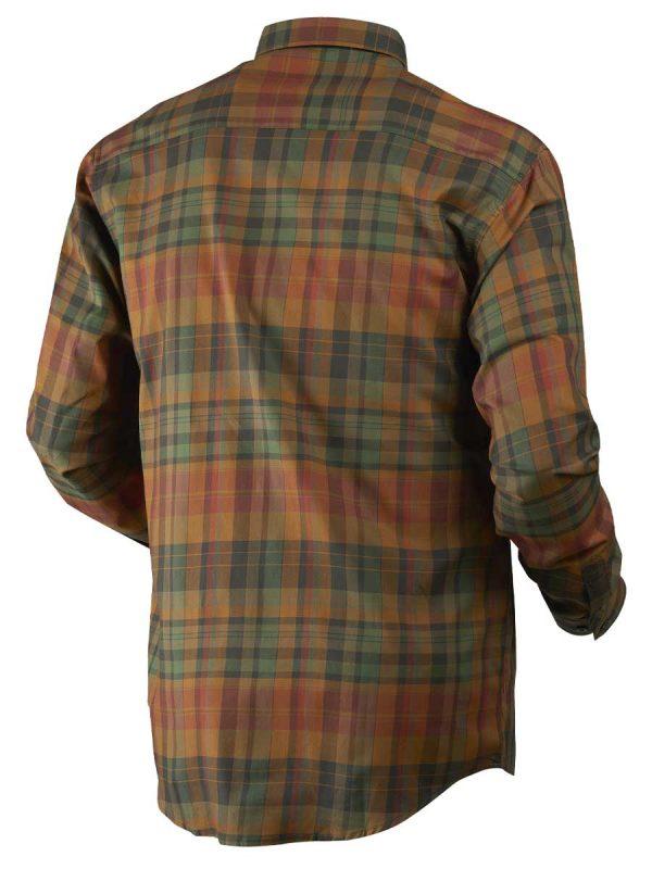 Härkila Mens Newton Shirt - Spice Check