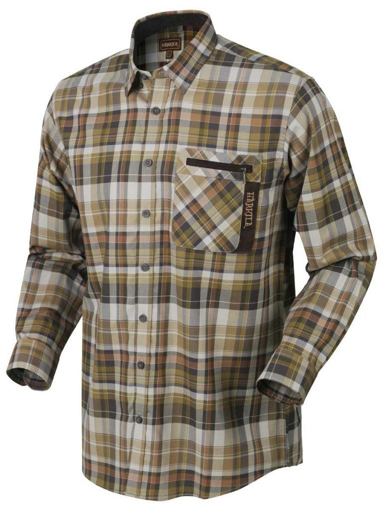Härkila Mens Newton Shirt - Tapenade Check