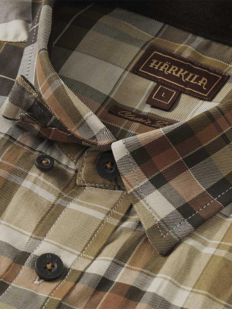 Härkila Mens Newton Shirt - TapenadeCheck