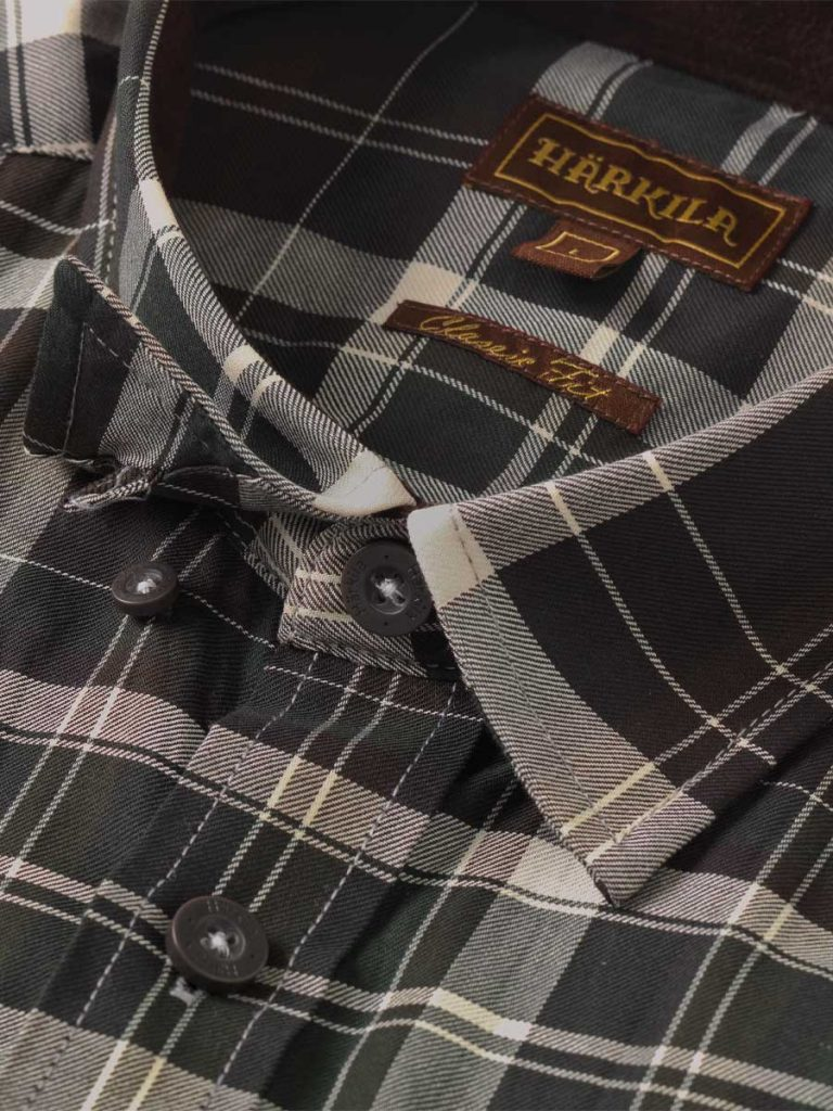 Härkila Mens Newton Shirt - Willow Green
