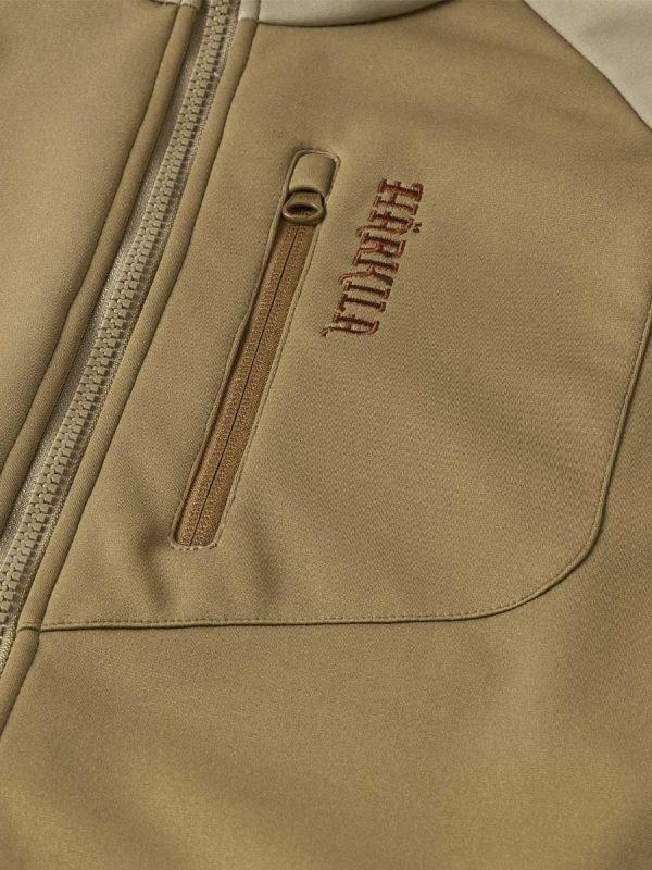 Härkila Mens PH Range Softshell Jacket - Khaki & Sand