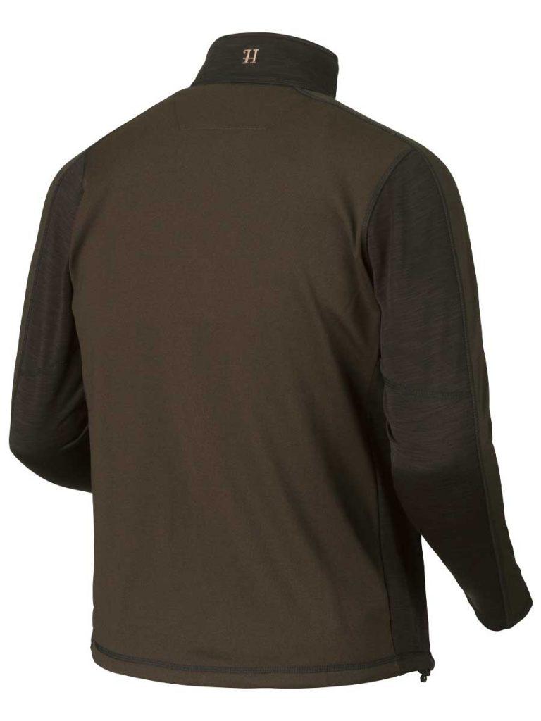 Harkila Vestmar Hybrid Fleece Jacket - Shadow Brown