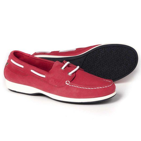 Dubarry Deck Shoes - Ladies Elba XLT - Raspberry
