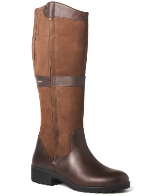 DUBARRY Sligo Boots - Ladies Waterproof Gore-Tex Leather - Walnut
