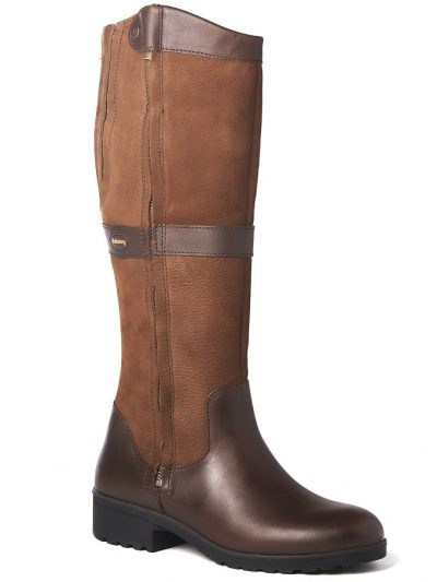 DUBARRY Sligo Boots - Ladies Waterproof Gore-Tex Leather - Walnut