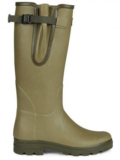 LE CHAMEAU Boots - Mens Vierzon Jersey Lined - Vert Vierzon