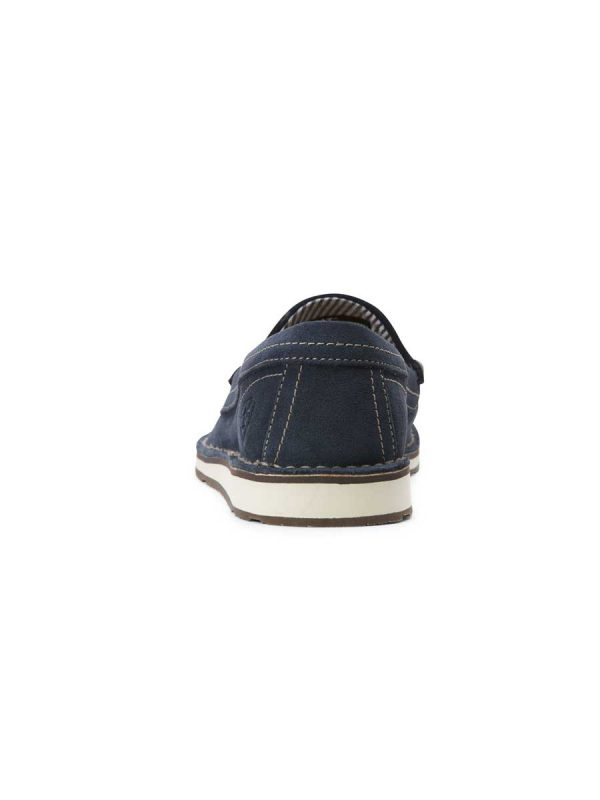 ARIAT Deck Shoes - Womens Tassel Cruiser - Navy