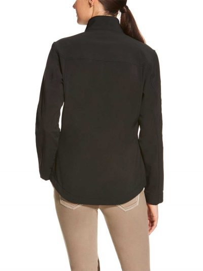 ARIAT Jacket - Womens New Team Softshell - Black