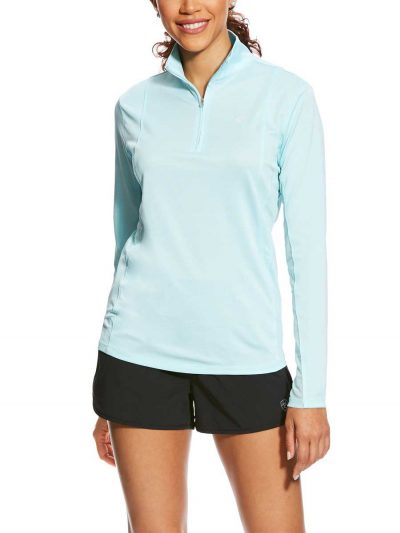 ARIAT-Womens-Sunstopper-Quarter--Zip---Sky-Drift