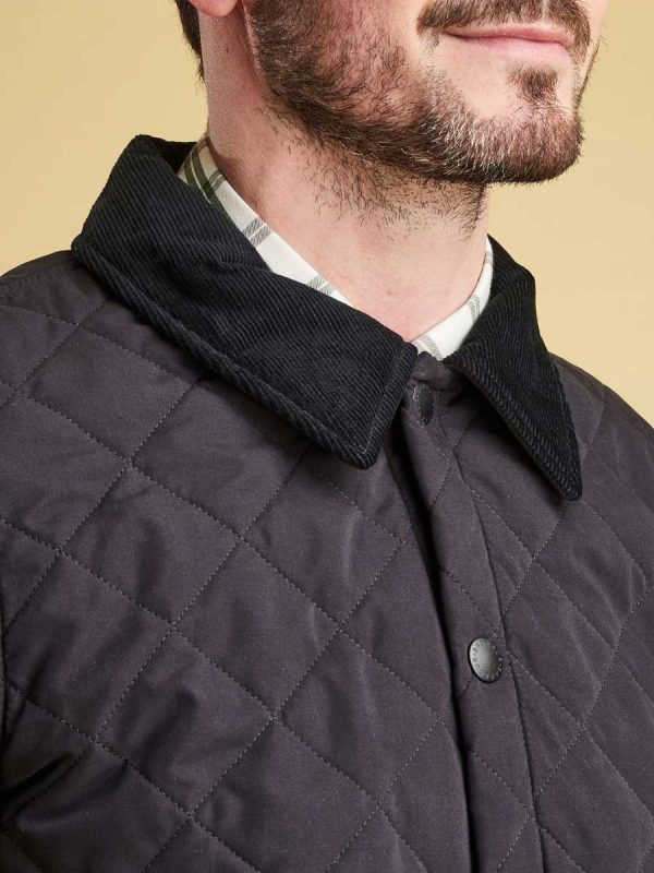 Barbour Bridle Quilted Jacket - Navy