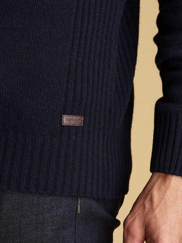 Barbour Nelson Essential Half Zip Jumper
