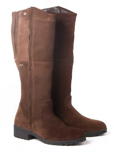DUBARRY Sligo Boots - Waterproof Gore-Tex Leather - Cigar Suede