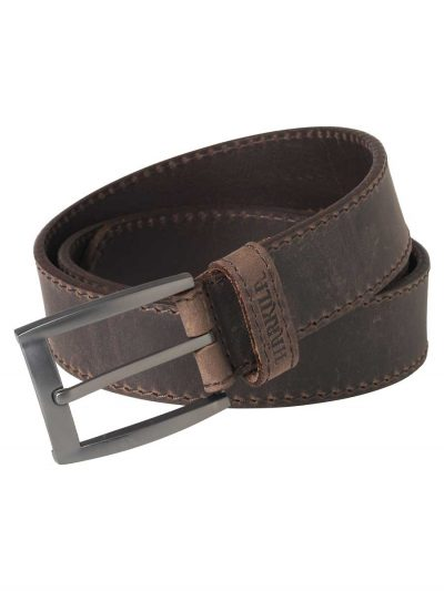 HARKILA-Mens-Arvak-Leather-Belt---Deep Brown